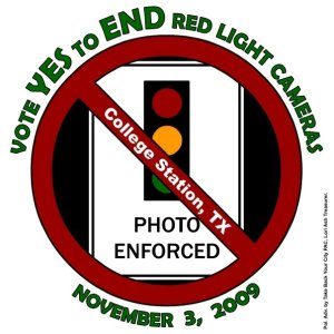 Vote YES to END Red Light Cameras!